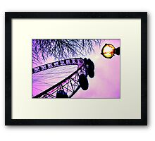 Eery Eye Framed Print