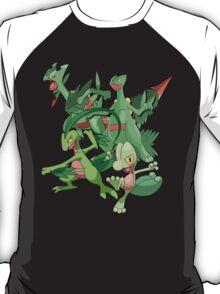 treecko's family T-Shirt