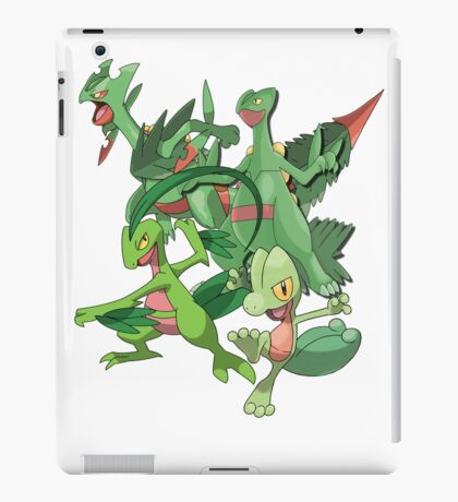 treecko's family iPad Case/Skin