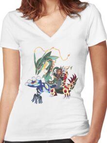 legensary Women's Fitted V-Neck T-Shirt