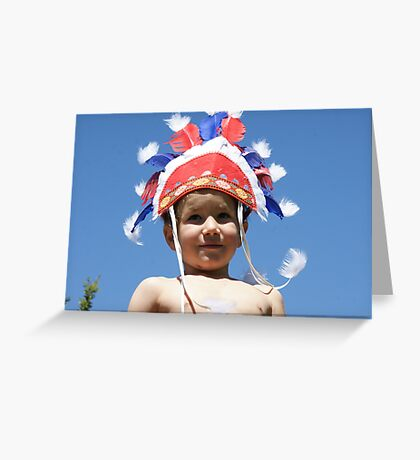 little onie Greeting Card