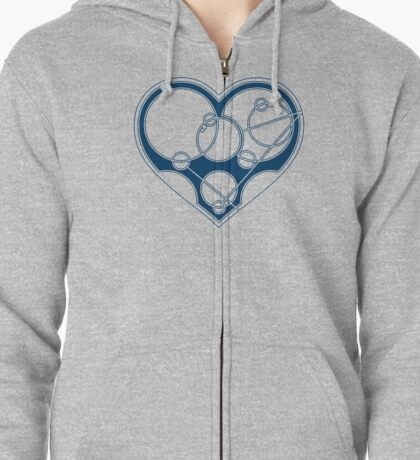 Say It With Gallifreyan Zipped Hoodie