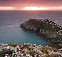 South Stack Lighthouse by Ian Newton