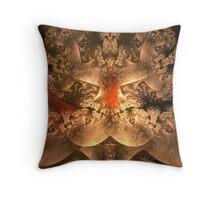 A splash of orange Throw Pillow