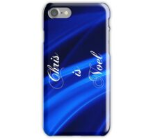 Chris is Noel 01 iPhone Case/Skin