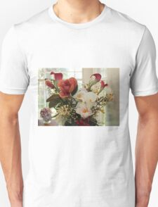 Flowers On The Table Unisex T-Shirt