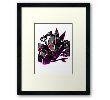 rayquaza case Framed Print