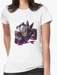 rayquaza case Womens Fitted T-Shirt