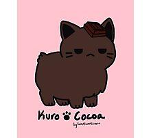 Sweet Treat Kitties - Kuro Cocoa (special) Photographic Print