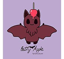 Sweet Treat Friends - Batty Apple the Bat Photographic Print