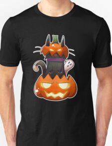 Jack O' Lantern Cat T-Shirt