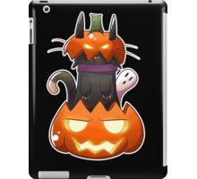 Jack O' Lantern Cat iPad Case/Skin