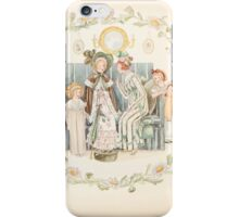 Mrs Leicester's School Charles & Mary Lamb with Minifred Green 18xx 0130 A Lady was Sitting with Mama iPhone Case/Skin
