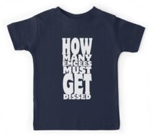 How Many Emcees Must Get Dissed Kids Tee