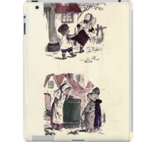 The Little Folks Painting book by George Weatherly and Kate Greenaway 0157 iPad Case/Skin