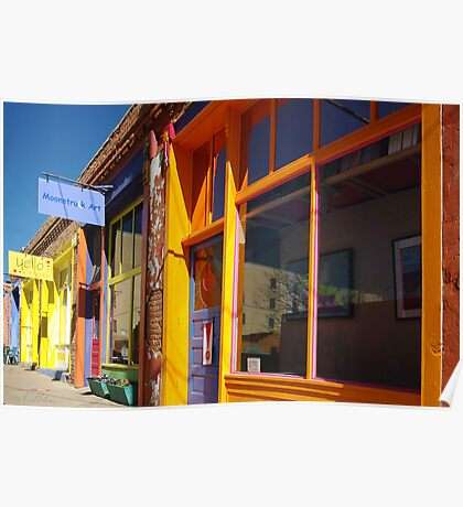 Down on Yankee Street - Silver City, NM Poster