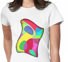 Twisted Color Womens Fitted T-Shirt