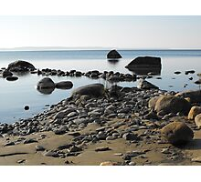 Lake Huron-  Georgian Bay, Meaford Ontario Canada Photographic Print