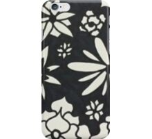 Flowers in the night  iPhone Case/Skin