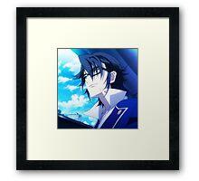 K Project- Fushimi Saruhiko Framed Print