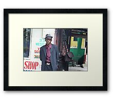 Jamaican Sapuer Framed Print