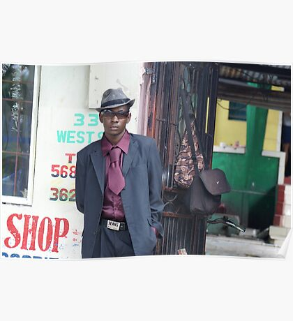 Jamaican Sapuer Poster