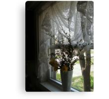 Daffodils in my window Canvas Print