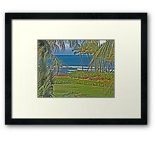 Puerto Rico paradise Framed Print