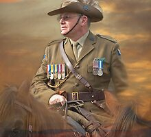 ANZAC COMMEMORATION by Sherrill Meredith