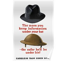 Careless Talk Costs Lives -- WW2 Poster