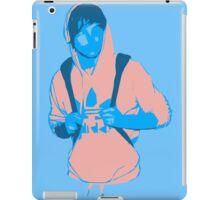 Pink Hooded Louis iPad Case/Skin
