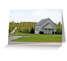 Yeakley Chapel and Cemetary Greeting Card