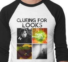Clueing For Looks Men's Baseball ¾ T-Shirt