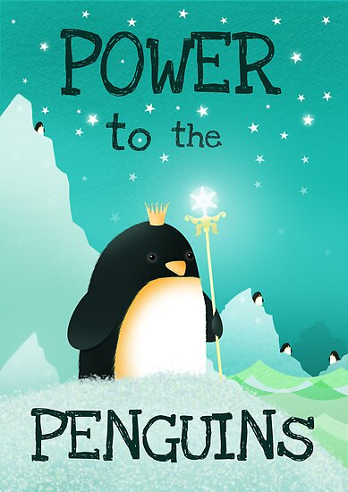Power to the Penguins by Hannah Chapman
