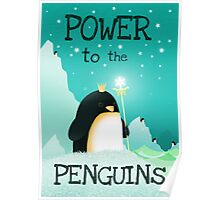 Power to the Penguins Poster