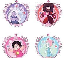 Steven Universe Nouveau Stickers! by shugarshock