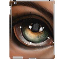 Hazel Eye Pop Surrealism Illustration iPad Case/Skin