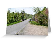 1923 Triple Pony-Struss Bridge Greeting Card