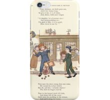 LIttle Ann and Other Poems by Jane and Ann Taylor art Kate Greenaway 1883 0024 James and the Shoulder of Mutton iPhone Case/Skin