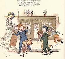 LIttle Ann and Other Poems by Jane and Ann Taylor art Kate Greenaway 1883 0024 James and the Shoulder of Mutton by wetdryvac