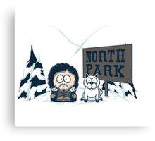 North Park Canvas Print