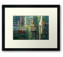 Behind Every Window Framed Print