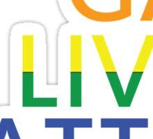 Gay Lives Matter Sticker