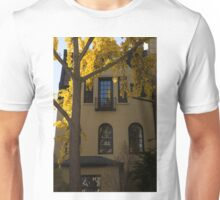 Washington, DC Facades - Dupont Circle Neighborhood in Yellow Unisex T-Shirt