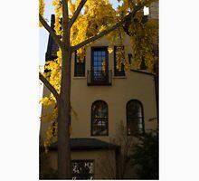 Washington, DC Facades - Dupont Circle Neighborhood in Yellow T-Shirt