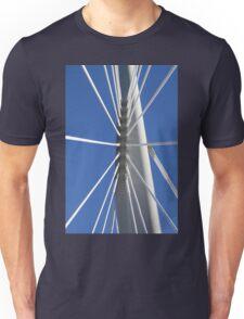 Abstract Bridge Lines #2, Winnipeg, Manitoba, Canada Unisex T-Shirt