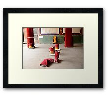 Monk shoes Framed Print