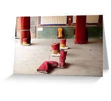 Monk shoes Greeting Card