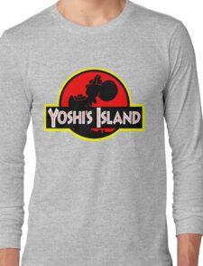 Yoshi's Island Long Sleeve T-Shirt