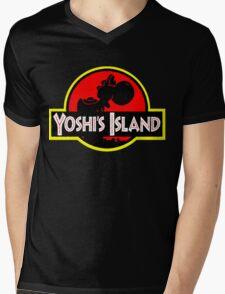 Yoshi's Island Mens V-Neck T-Shirt